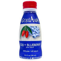 GOJILANIA Goji + Blueberry Juice Blend, 10.5 Ounce Bottles (Pack of 12)