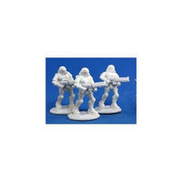 Reaper Miniatures 80015 Bones - Chrono Nova Corp Rifleman 3 Miniature