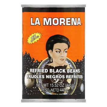La Morena Black Beans 15.52oz Pack of 12