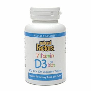 Natural Factors Vitamin D3 for Kids