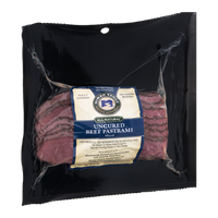Niman Ranch All Natural Uncured Beef Pastrami Sliced