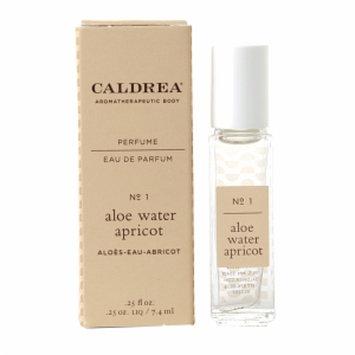 Caldrea Perfume Rollerball, Aloe Water Apricot, .25 fl oz