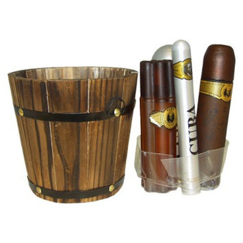 Men's Cuba Gold by Cuba - 5 pc Gift Set