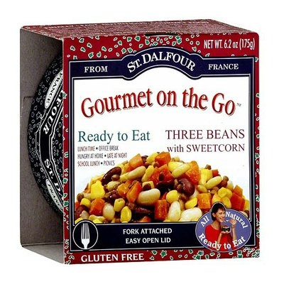 St. Dalfour Three Beans With Sweet Corn