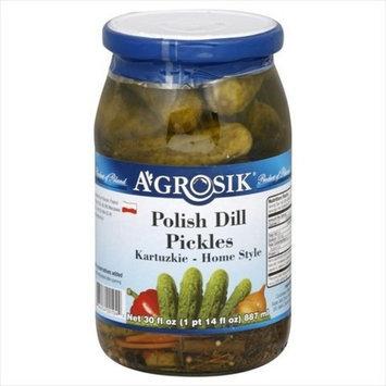 Krakus Pickle Polish Dill 30 OZ (Pack of 12)
