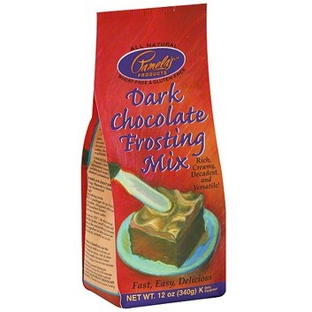 Pamela's Products Dark Chocolate Frosting Mix