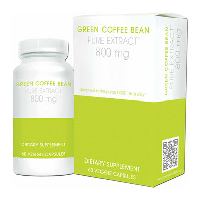 Creative Bioscience Green Coffee Bean Pure Extract Veggie Capsules