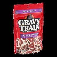 Gravy Train Steak Bones Beef Flavor Dog Snacks