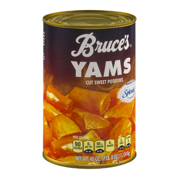 Bruce's Yams Cut Sweet Potatoes Sweetened with Splenda