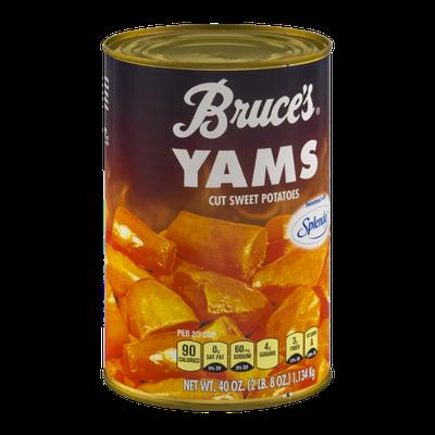 Bruce's Yams Cut Sweet Potatoes Sweetened with Splenda