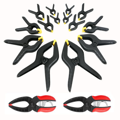 Great Neck Tools 14 pc. Spring Clamp Set with 2 pc. Ratcheting Clamps