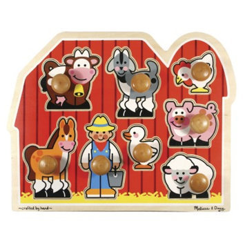 Melissa & Doug Wooden Large Farm Jumbo Puzzle