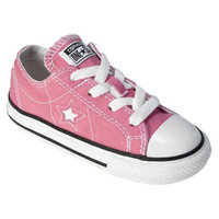 Converse One Star Toddler's  Canvas Oxford Shoe - Pink 8.0