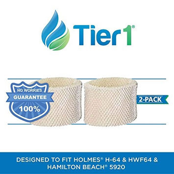 Protect Plus HWF64 Holmes Comparable Humidifier Replacement Filter by Tier1 (2-Pack)