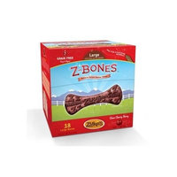 ZUKE'S PERFORMANCE PET NUTRITION 134095 18 Count Z-Bone Cherry Berry Display Box, Large