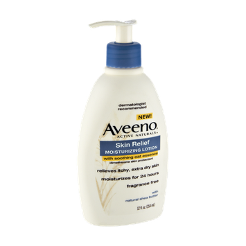 Aveeno Active Naturals Skin Relief with Soothing Oat Essence Moisturizing Lotion