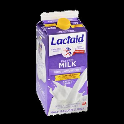 Lactaid Calcium Enriched 100% Lactose Free Fat Free Milk