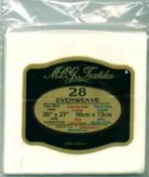 M.c.g. Textile, Inc. M C G Textiles Antq White-Evenweave 28Ct 20X27