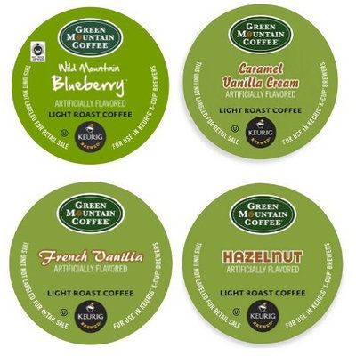 Green Mountain Coffee Green Mountain Flavored Variety (22 K-cups) Keurig