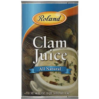 Roland All Natural Clam Juice, 46 fl oz, (Pack of 12)