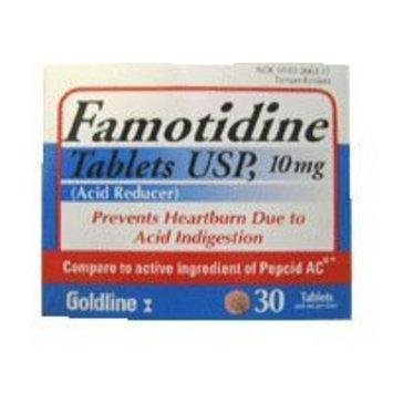 Famotidine Tablets 10Mg relieves Heartburn - 30 Ea
