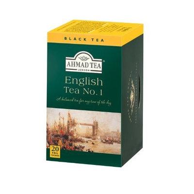 Ahmad Tea English Tea No. 1, 20-Count Boxes (Pack of 6)