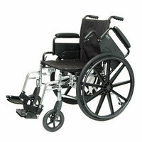 ProBasics Bundle-56  Deluxe Lightweight Wheelchair (2 Pieces)