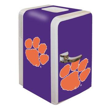 Boelter Brands NCAA Clemson Tigers Portable Party Fridge 15 Quart HHK0OQ2GO-1614