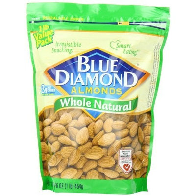 Blue Diamond Almonds Whole Natural