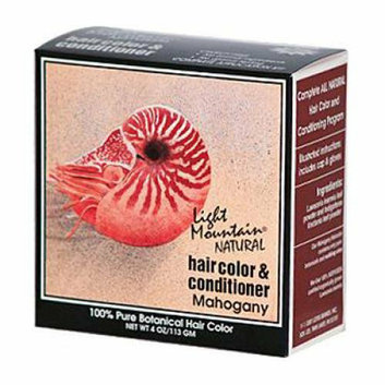 Light Mountain Hair Color and Conditioner Mahogany 4 fl oz