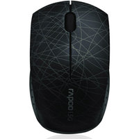 Shenzhen Rapoo Technology Rapoo 3300P Super-mini Wireless Optical Mouse, Black