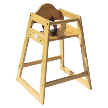 Hardwood Highchair - Natural by Foundations