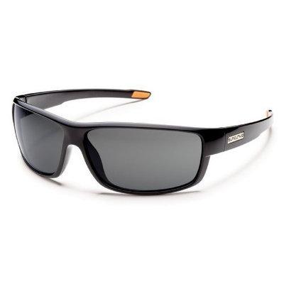 Suncloud Voucher Polarized Sunglasses [Black Frame, Gray Lens]