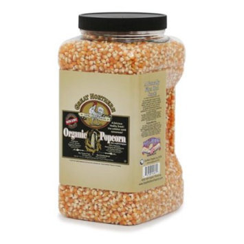 Great Northern Popcorn Company Great Northern Popcorn Organic Yellow Gourmet Popcorn All Natural, 7 Pounds