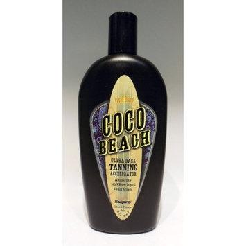 Supre Coco Beach Hemp Accelerator Ultra Dark Tanning Lotion 10 oz.