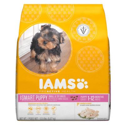 IamsA Proactive Health Small & Toy Breed Puppy Food