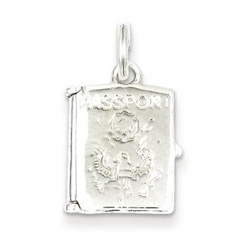 Cellini, Inc goldia Sterling Silver Passport Charm