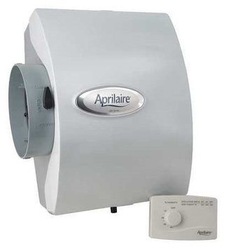 APRILAIRE 600M Whole Home Humidifier, Drain Bypass,0.5A