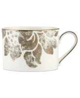 Lenox Dinnerware, Silver Applique Cup
