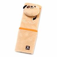 BenBat Seat Belt Pals Pads 4-8 Yrs DOG, Brown, 1 ea