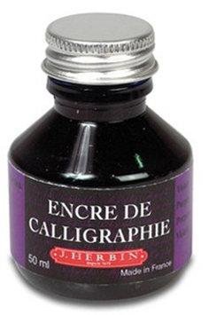 Exaclair J. Herbin 50 ml Bottle Calligraphy Ink, Violet