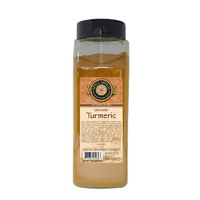 Spice Appeal Tumeric Ground, 16-Ounce Jars (Pack of 2)