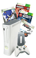 Xbox 360 20GB E Rated Refurbished Blast from the Past System Bundle