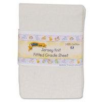 Kidsline Kids Line Jersey Knit Fitted Cradle Sheet - Ecru
