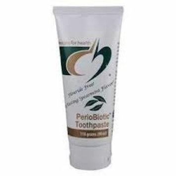 Designs for Health Periobiotic Toothpaste, Spearmint Flavor, 118 Gram