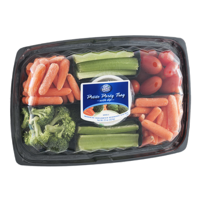 Eat Smart Petite Party Tray with Dip
