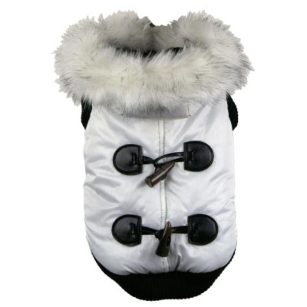 Pet Life Snow Fashion Parka Dog Coat