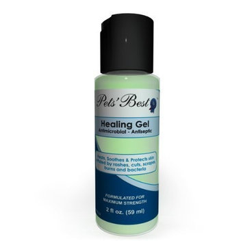 Pets'bestrx Pet Antiseptic & Skin Rash Healing Gel - 2 Oz