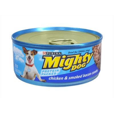 Purina Mighty Dog Chicken & Smoked Bacon Combo