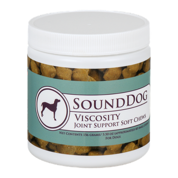 Sound Dog Viscosity Joint Support Soft Chews for Dogs Small Chews - 60 CT